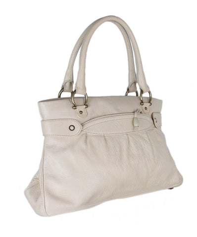 Marc Jacobs Ivory Cream Leather Tote 1