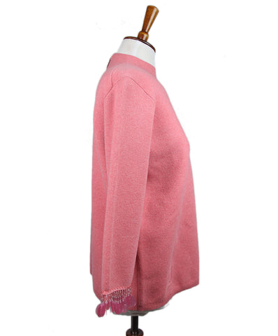 Marc Jacobs Pink Wool Cashmere Sweater 1