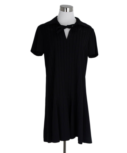 Marc Jacobs Black Silk Dress 1