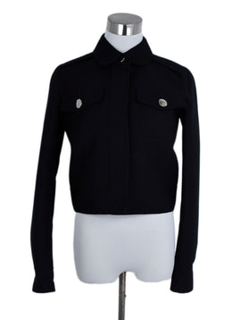 Marc Jacobs Black Wool Cropped Jacket 1