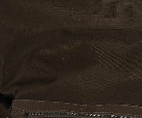 Marc Jacobs Neutral Taupe Leather Satchel Handbag 6