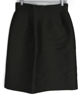 Marc Jacobs Green Olive Silk Skirt 2