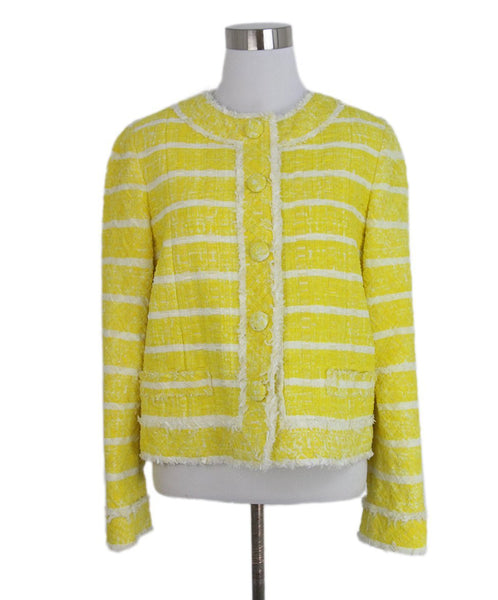 Marc Jacobs yellow white jacket 1