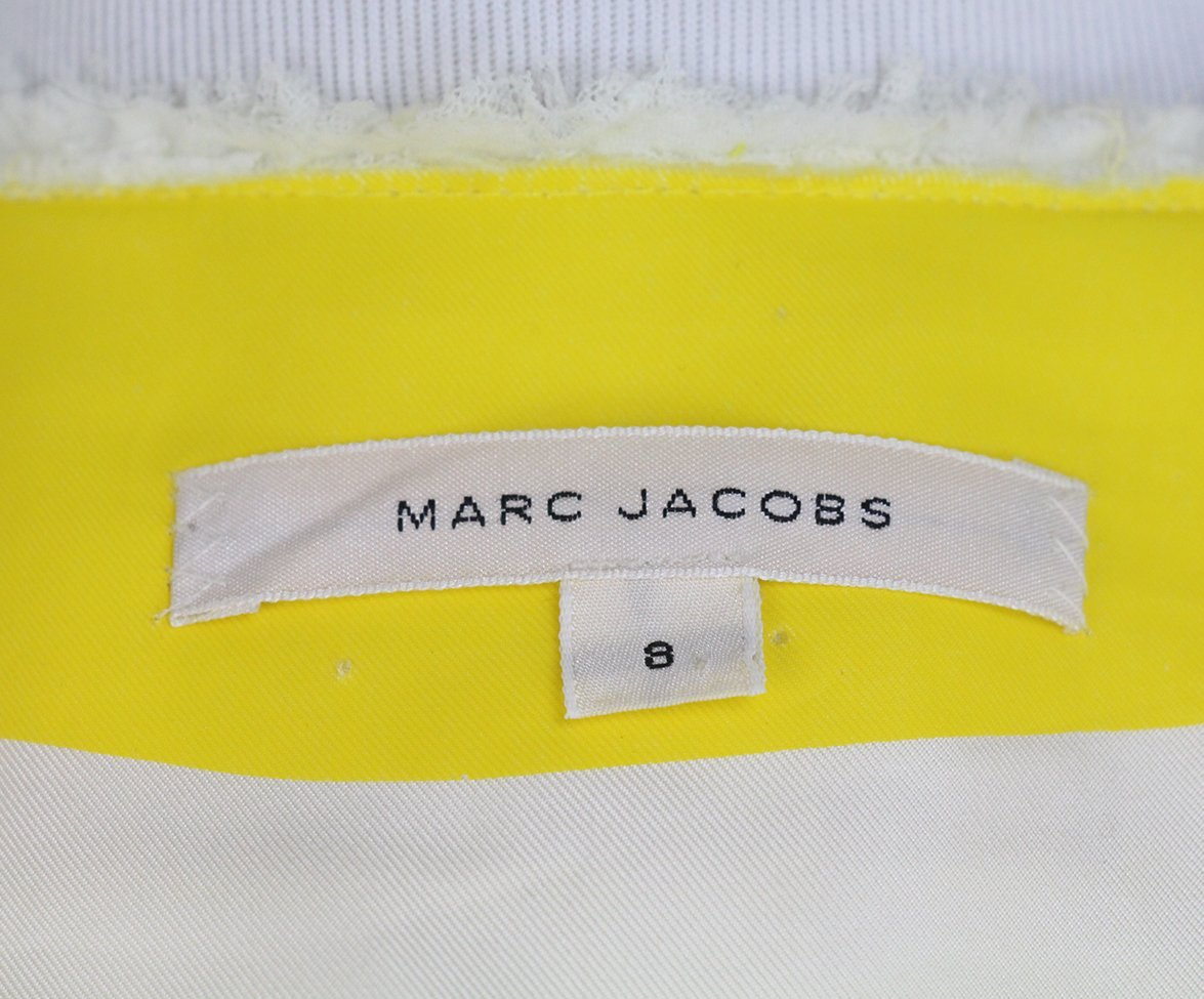 Marc Jacobs yellow white jacket 4
