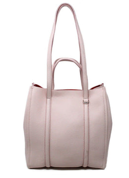 Marc Jacobs Pink Leather Tote Handbag 1
