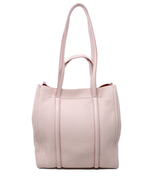 Marc Jacobs Pink Leather Tote Handbag 3