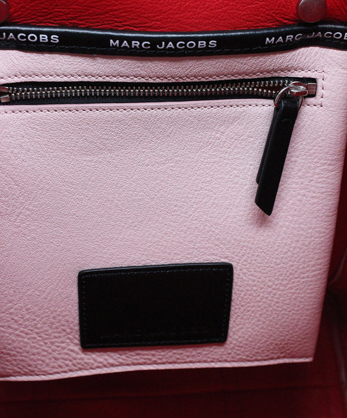 Marc Jacobs Pink Leather Tote Handbag 7