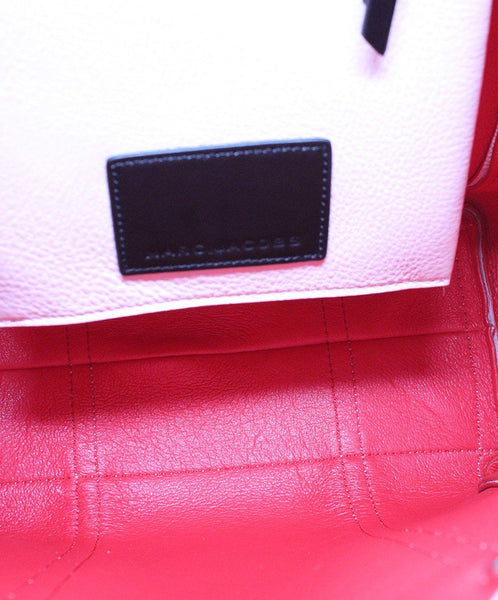 Marc Jacobs Pink Leather Tote Handbag 5