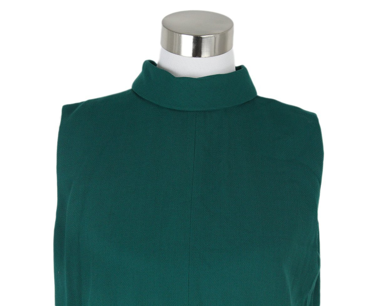 Margiela green wool dress 5