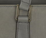Mark Cross Grey Suede Handbag 8