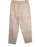 Marni Beige Salmon Polka Dot Cotton Pants 2