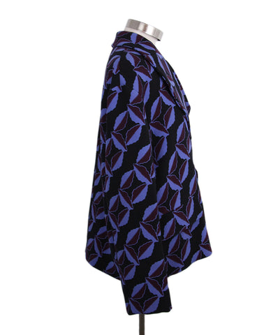 Marni Black Purple Wool Jacket 1