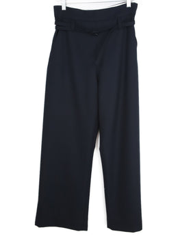 Marni Navy Wool Pants 1