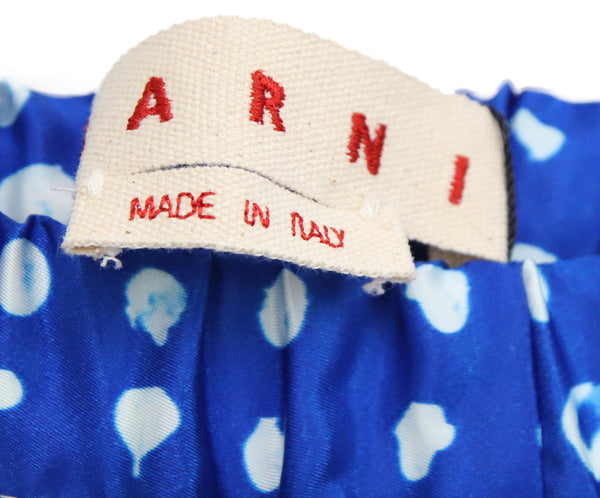 Marni Blue with White Dots Pants 3