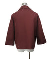 Marni Burgundy Cotton Wool Jacket 3