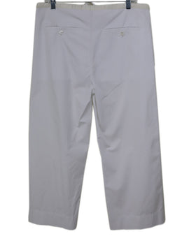 Marni White Cotton Pants 1