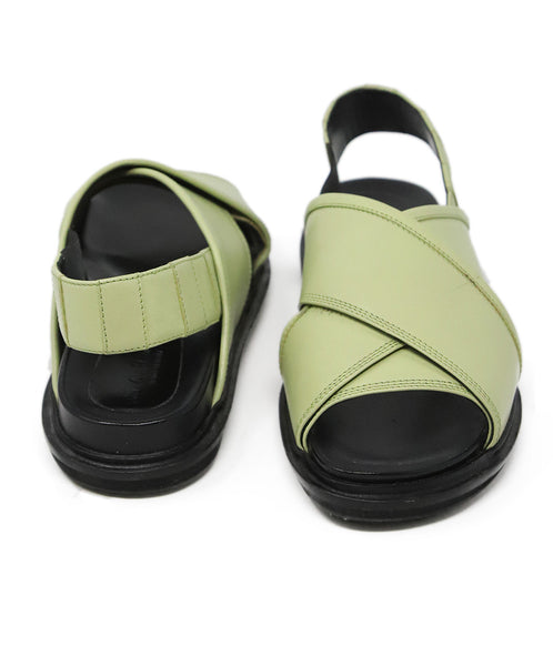 Marni Green Leather Shoes 3