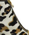 Marni Animal Print Gold Trim Pony Booties 7