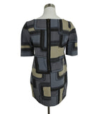 Marni Grey Black Tan Cotton Silk Print Tunic Top 3