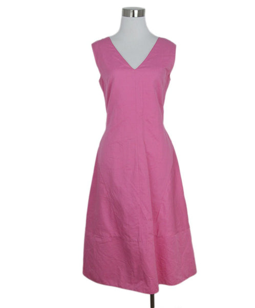 Marni pink cotton dress 1