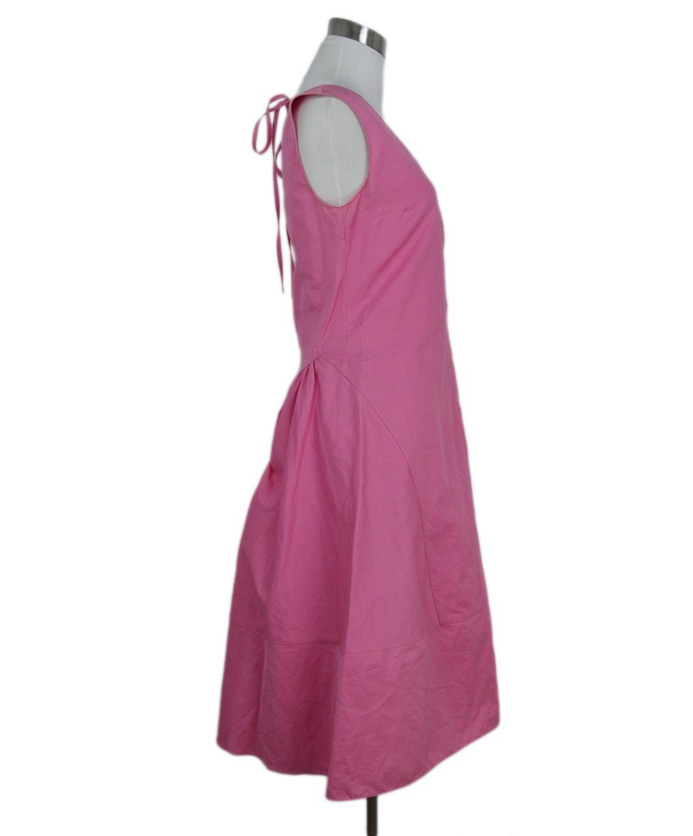 Marni pink cotton dress 2