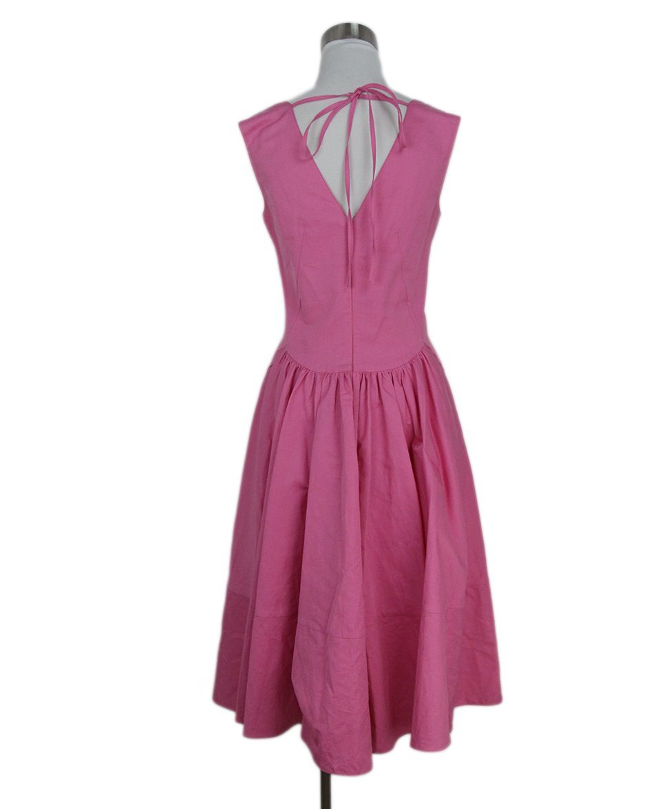Marni pink cotton dress 3