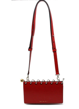 Marni Red Patent Leather Handbag 1