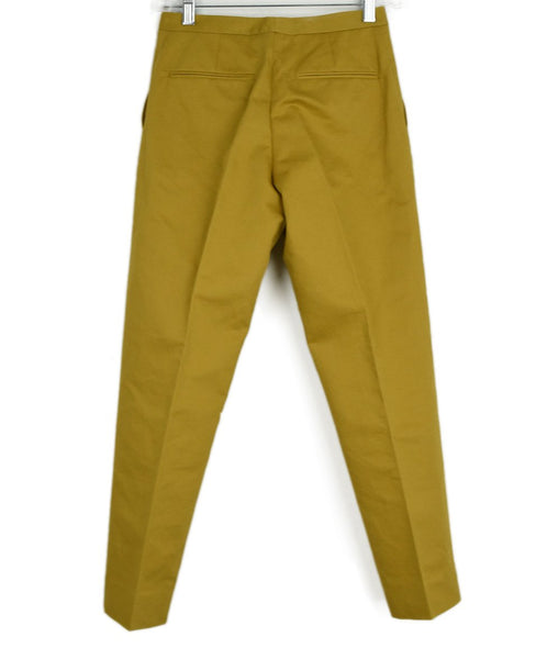 Marni Mustard Yellow Pants sz. 0 | Marni