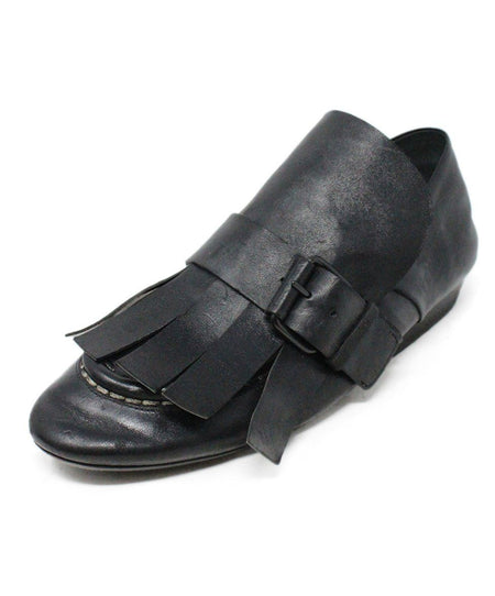 Ferragamo Black Leather Loafers US size 9