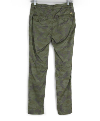 Mason Green Camouflage Cotton Sequins Trim Pants 1