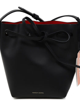 Crossbody Mansur Gavriel Black Leather Handbag 1