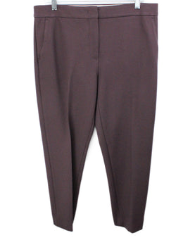 Max Mara Purple Cotton Pants 1