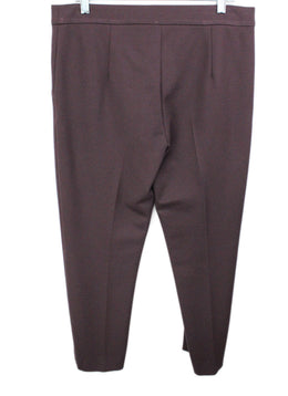 Max Mara Purple Cotton Pants 2
