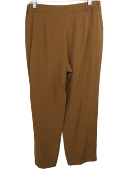 Max Mara Brown Silk Pants 2