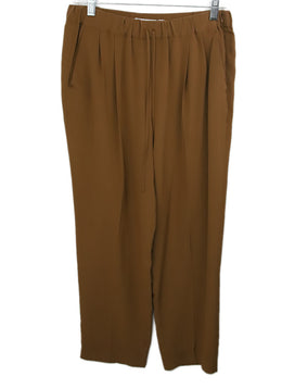Max Mara Brown Silk Pants 1