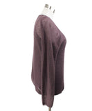 Max Mara Purple Mohair Cotton Sweater with Tank Top 5