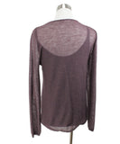 Max Mara Purple Mohair Cotton Sweater with Tank Top 2