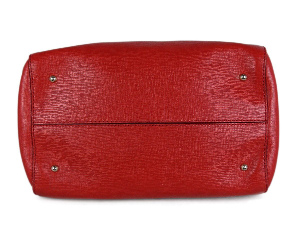 Max Mara Red Leather Bag 4