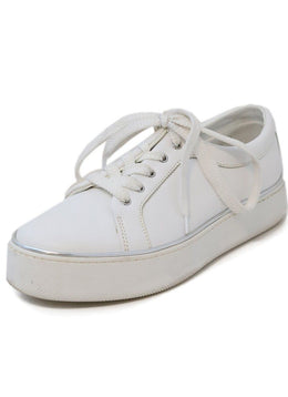 Max Mara White Leather Sneakers