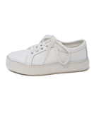 Max Mara White Leather Sneakers 1