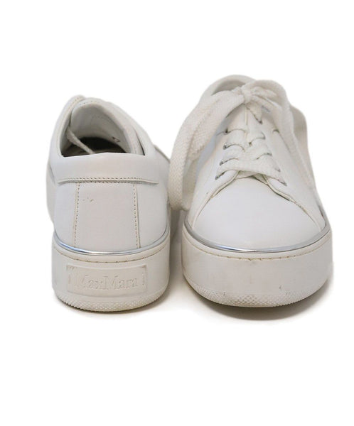 Max Mara White Leather Sneakers 2