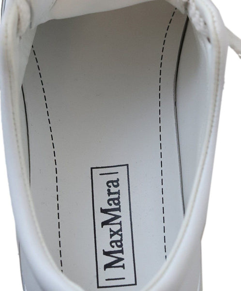 Max Mara White Leather Sneakers 4