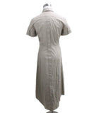 Max Mara Neutral Khaki Cotton Dress 2