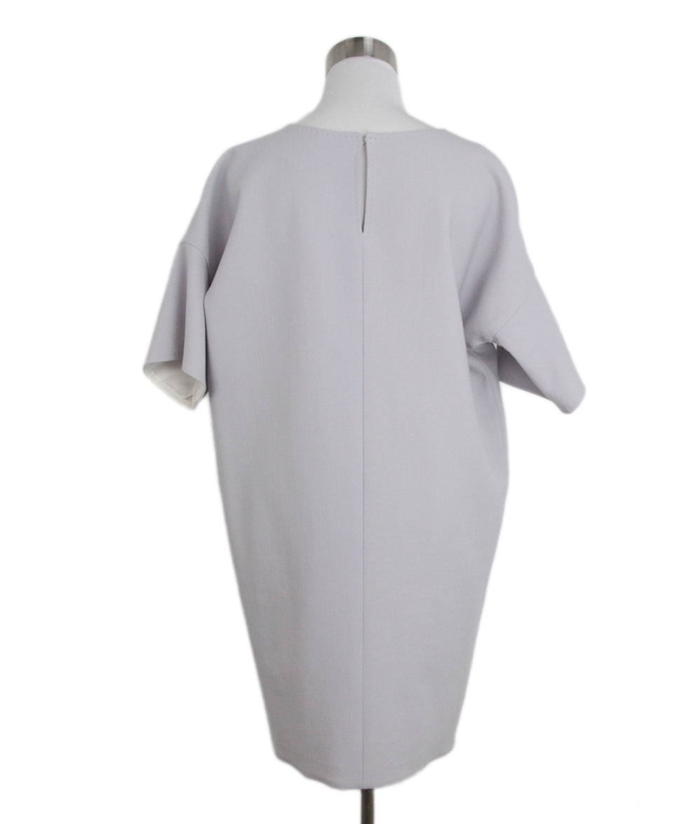 Max Mara lavender wool dress 3