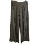 Max Mara Grey Wool Silk Pants 1