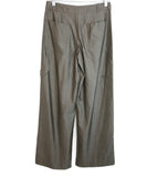 Max Mara Grey Wool Silk Pants 2