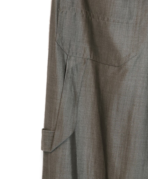 Max Mara Grey Wool Silk Pants 5