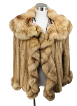 Maximilian Blonde Canadian Sable Fur Outerwear 1