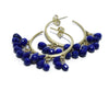 Me & Ro Blue Lapis 18 K Gold Jewelry Earrings 4