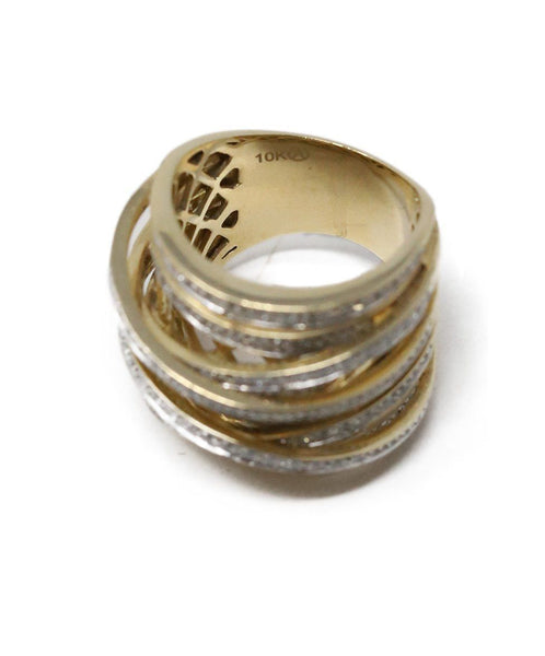 10K Gold Diamond ring 4